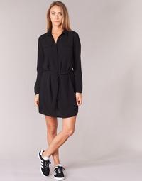 Textiel Dames Korte jurken Casual Attitude HONIRE Zwart