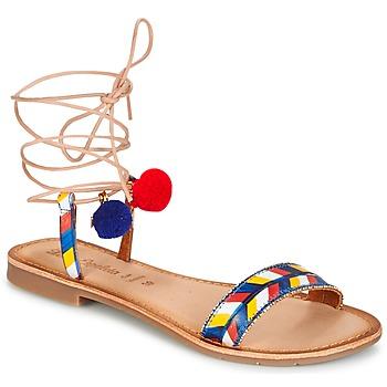 Schoenen Dames Sandalen / Open schoenen Lola Espeleta EDWINA Blauw