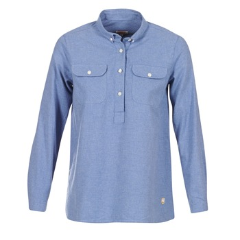 Textiel Dames Overhemden Armor Lux GRICHA Blauw