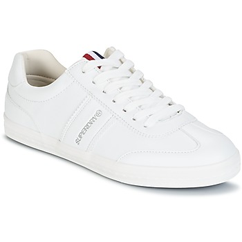 Schoenen Dames Lage sneakers Superdry COURT CLASSIC SLEEK TRAINER Wit