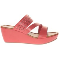 Schoenen Dames Sandalen / Open schoenen Vera & Lucy Sandale Compensé  Rouge 78-35 Rood