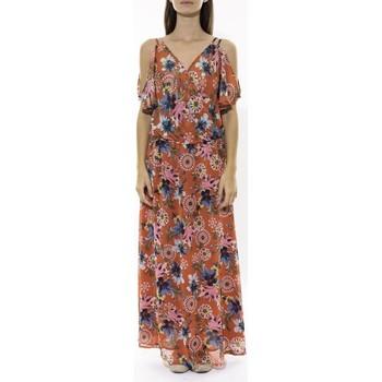 Textiel Dames Lange jurken Jad Robe Zaba Rouge Rood