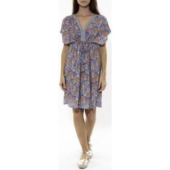 Textiel Dames Korte jurken Jad Robe Grenadine Bleu Blauw