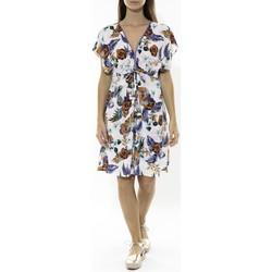 Textiel Dames Korte jurken Jad Robe Grenadine Blanche Wit
