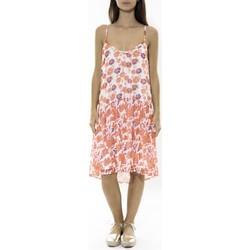 Textiel Dames Korte jurken Jad Robe Zeus Orange Oranje