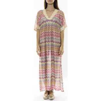 Textiel Dames Lange jurken Jad Robe  Asilah Rose Roze