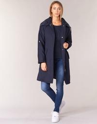 Textiel Dames Trenchcoats Armani jeans MERCHA Marine