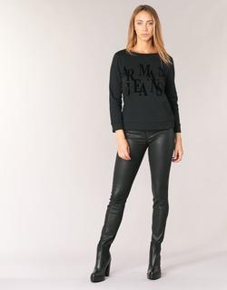 Textiel Dames Skinny Jeans Armani jeans BABEZ Zwart