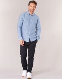 Textiel Heren Chino's Scotch & Soda STUART Marine
