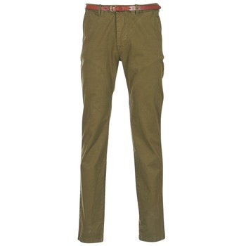 Textiel Heren Chino's Scotch & Soda STUART Kaki