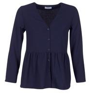 Textiel Dames Tops / Blousjes Betty London IHALICE Marine