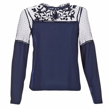 Textiel Dames Tops / Blousjes Vero Moda JOSEFINE Marine
