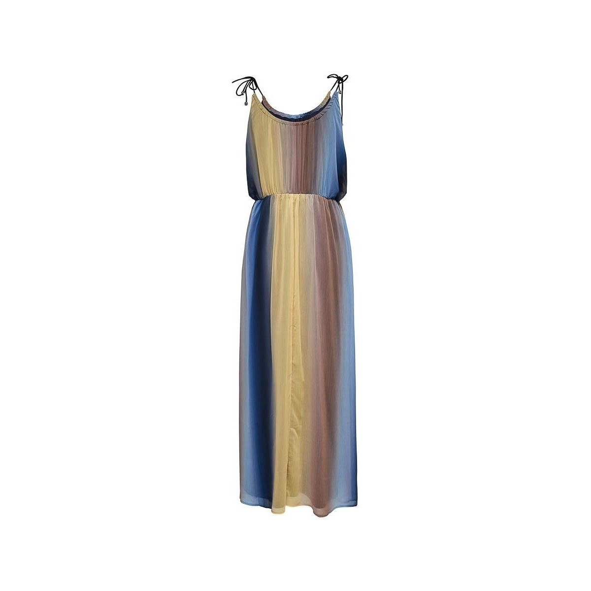ONLY jurk aura s/l maxi dress other