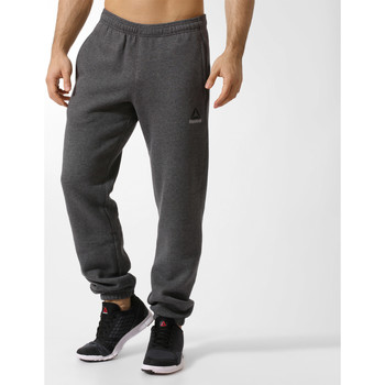 Textiel Heren Trainingsbroeken Reebok Sport Elements Fleece Broek met Omslagen Grijs
