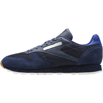 Schoenen Heren Lage sneakers Reebok Classic Classic Leather Urban Descent Blauw