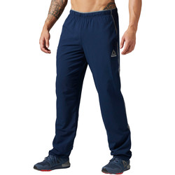 Textiel Heren Trainingsbroeken Reebok Sport Workout Ready Geweven Broek Blauw