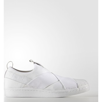 Schoenen Lage sneakers adidas Originals Superstar Slip-on Schoenen Wit / Wit / Wit