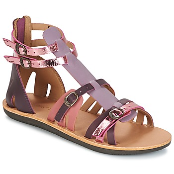 Schoenen Dames Sandalen / Open schoenen Kickers SPARTIATEN Violet / Multi