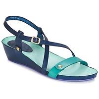 Schoenen Dames Sandalen / Open schoenen Kickers TASTE Marine / Blauw / Lagoon
