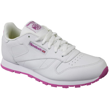 Schoenen Kinderen Lage sneakers Reebok Sport Classic Leather Blanc