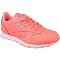 Schoenen Kinderen Lage sneakers Reebok Sport Classic Leather Rose