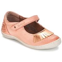 Schoenen Meisjes Ballerina's Kickers CALYPSO Koraal