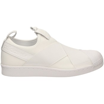 Schoenen Dames Running / trail adidas Originals SUPERSTAR SLIP-ON Wit