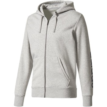 Textiel Heren Trainings jassen adidas Performance Essentials Hoodie Grijs / Donkerblauw