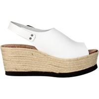 Schoenen Dames Sandalen / Open schoenen Tdl Collection 5372677-6 White
