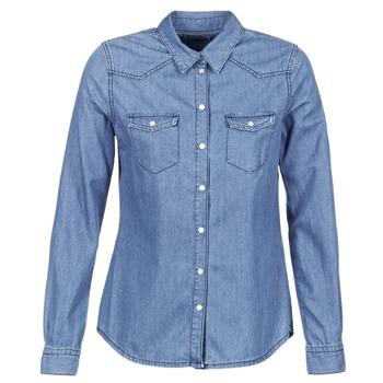 Textiel Dames Overhemden Yurban HEFOU Blauw