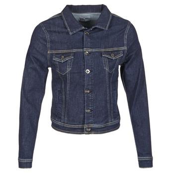 Textiel Dames Spijker jassen Yurban HELEFI Blauw / Medium