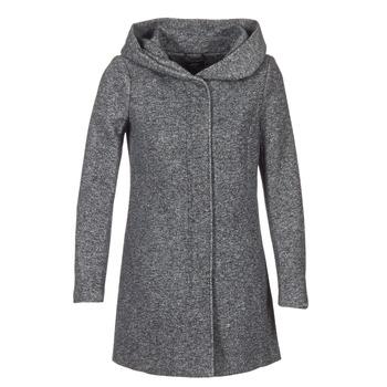 Textiel Dames Mantel jassen Only SEDONA Grijs