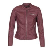 Textiel Dames Leren jas / kunstleren jas Only READY Bordeau