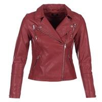 Textiel Dames Leren jas / kunstleren jas Only MADDY Rood