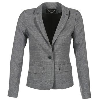 Textiel Dames Jasjes / Blazers Only MIRANDA Grijs