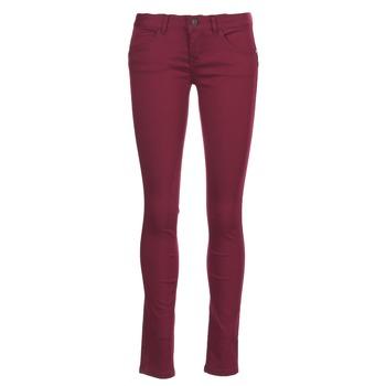 Textiel Dames 5 zakken broeken Only LUCIA Bordeau