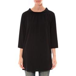 Textiel Dames Tunieken Barcelona Moda Robe Margarita Noir Zwart