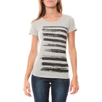 Textiel Dames T-shirts korte mouwen LuluCastagnette Tee shirt Pali Gris Grijs