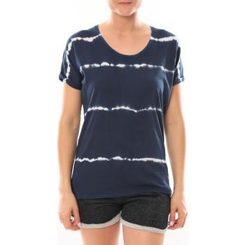 Textiel Dames T-shirts korte mouwen LuluCastagnette T-Shirt Bobo Marine Blauw