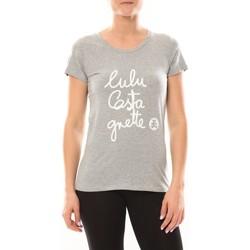 Textiel Dames T-shirts korte mouwen LuluCastagnette T-shirt Muse Gris Grijs