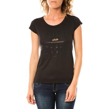 Textiel Dames T-shirts korte mouwen LuluCastagnette T-shirt Chicos Noir Zwart