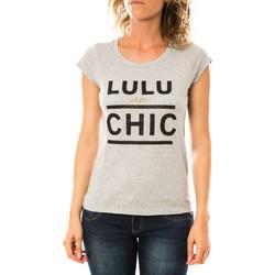 Textiel Dames T-shirts korte mouwen LuluCastagnette T-shirt Chicos Gris Grijs