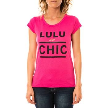 Textiel Dames T-shirts korte mouwen LuluCastagnette T-shirt Chicos Rose Roze
