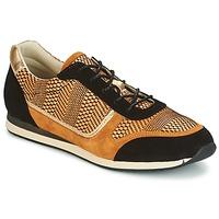 Schoenen Dames Lage sneakers Bocage LAURETTE Zwart / Oker