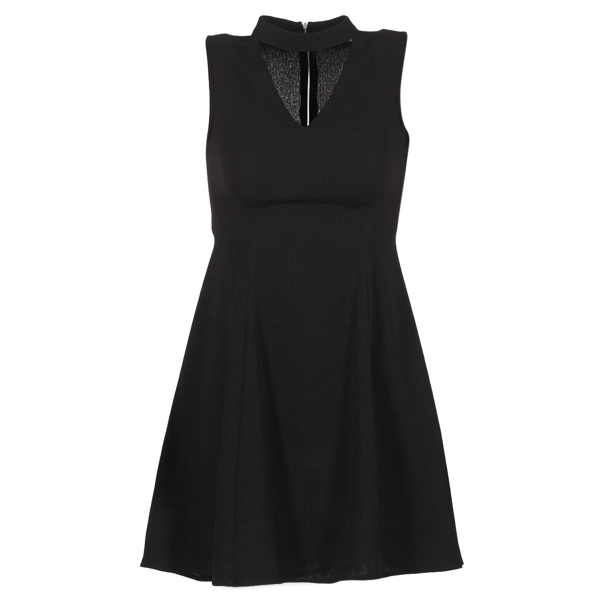 Moony Mood korte jurk gudu zwart