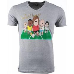 Textiel Heren T-shirts korte mouwen Mascherano T-shirt - Football Legends Print 35