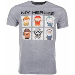 Textiel Heren T-shirts korte mouwen Mascherano T-shirt My Heroes 35