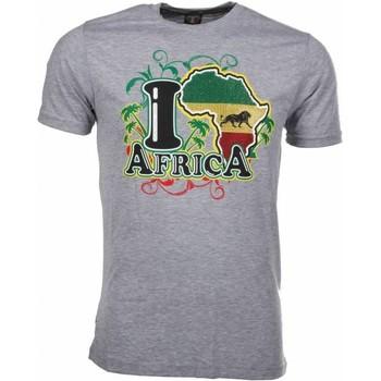 Textiel Heren T-shirts korte mouwen Mascherano T-shirt I Love Africa 35