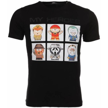 Textiel Heren T-shirts korte mouwen Mascherano T-shirt My Heroes 38