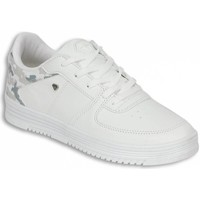 Schoenen Heren Lage sneakers Cash Money Schoenen - CMS77- Army Full White - Wit